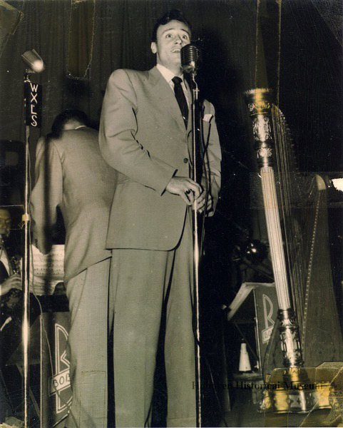 Bob Anthony in 1945, fronting Bob Chester & His Orchestra