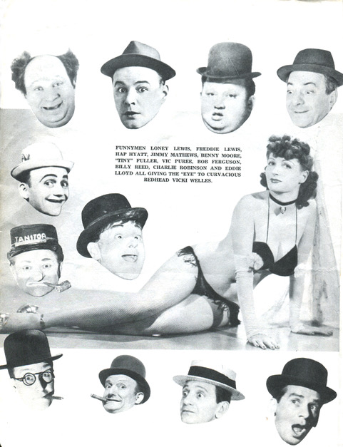 Very few top-banana burlesque comics—represented by agents like Jess Mack and Irv Charnoff—transitioned into movies or TV. And so their legends faded into the ether