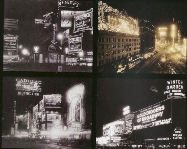 Fanny Gold's childhood neighborhood (from Times Square Spectacular, by Darcy Tell)
