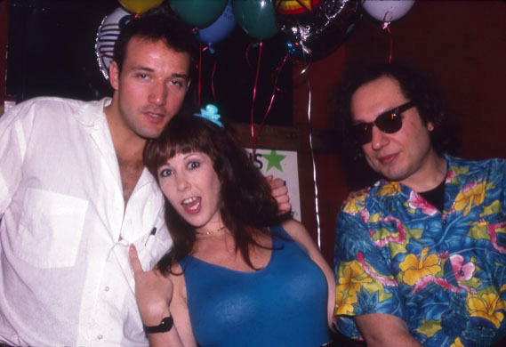 With Annie Sprinkle and Ratso at the Melody Burlesk