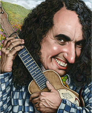 Josh Alan Friedman interviews TIny TIm, Illustration by Drew Friedman