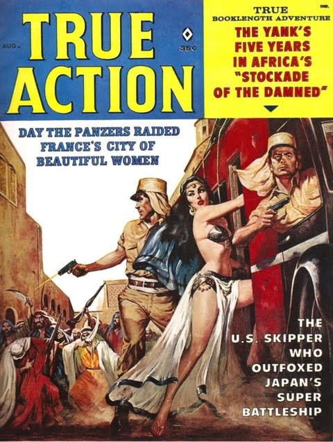 True Action Magazine Cover