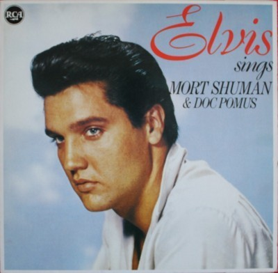 French Elvis Lp. Mort Shuman became a pop star in France and thus received top billing here.